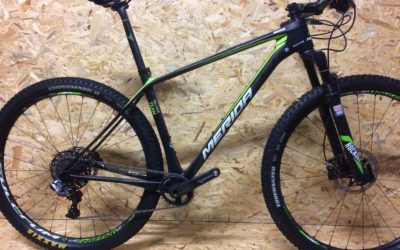 MERIDA BIG-NINE TEAM TEST da provare !!! test bike